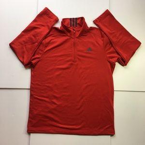 Adidas Activewear Pullover Men's 1/4 Zip Top (L)